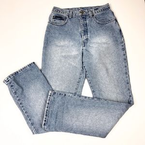 Vintage NY Jeans | Light Wash High Waist Mom Jean